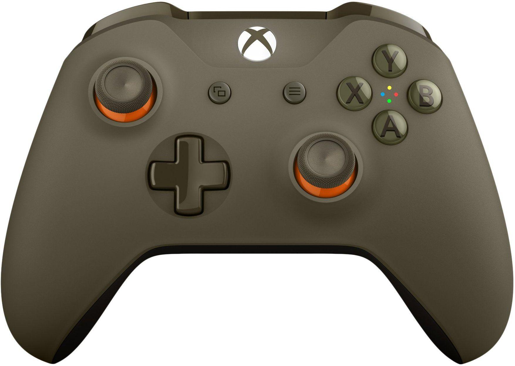 Xbox One Xbox One S Wl3 00035 Green Orange Wireless Controller Xbox One Controller Wireless Controller Xbox Wireless Controller