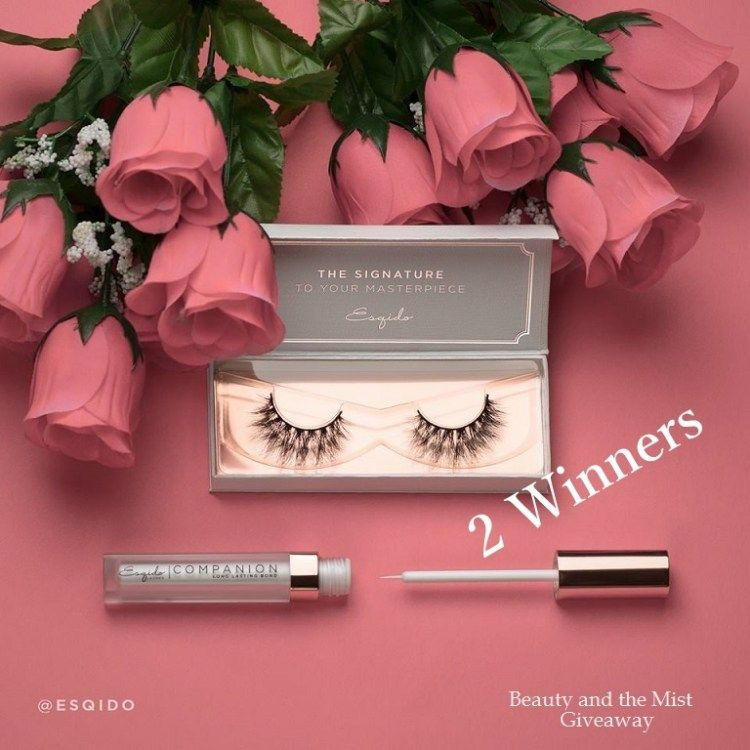 Esqido Lashes, Beauty Giveaway