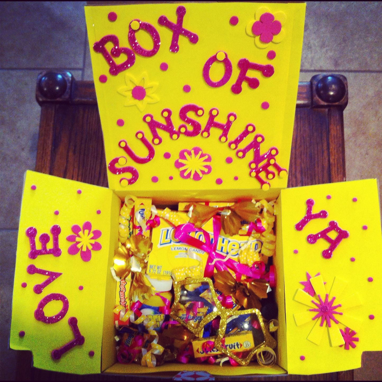 Send A Box Of Sunshine To Someone Special