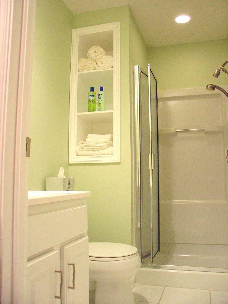 interior bathroom corner shower stalls with folding glass door ...