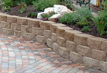 Interior Style Home Garden Retaining Wall Landscaping