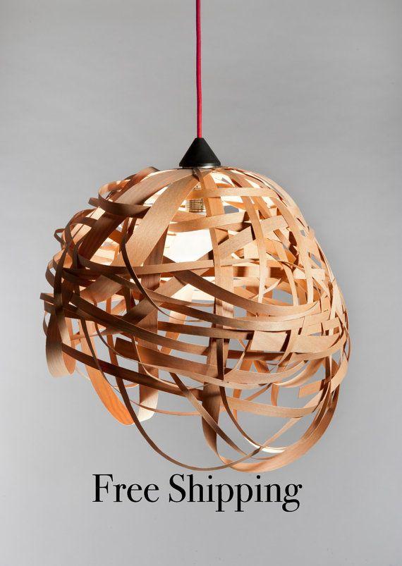 Lighting wood ceiling lamp modern ceiling light hanging pendant decoracin lighting wood aloadofball Image collections