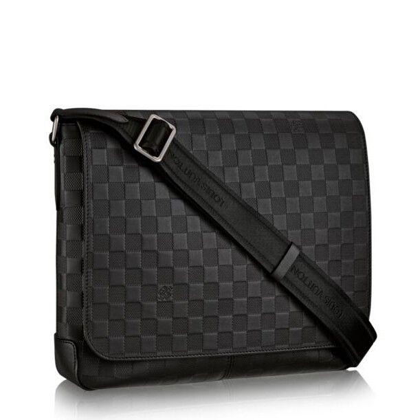 8f1fc3d52 Top Replica Louis Vuitton District MM Damier Infini N41284 | Mens ...