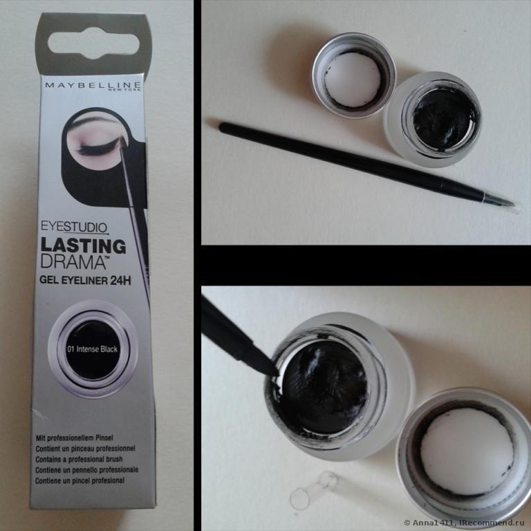 подводка для глаз Maybelline Eyestudio Lasting Drama Gel Liner Healthy Skin Care Healthy Skin Skin Care