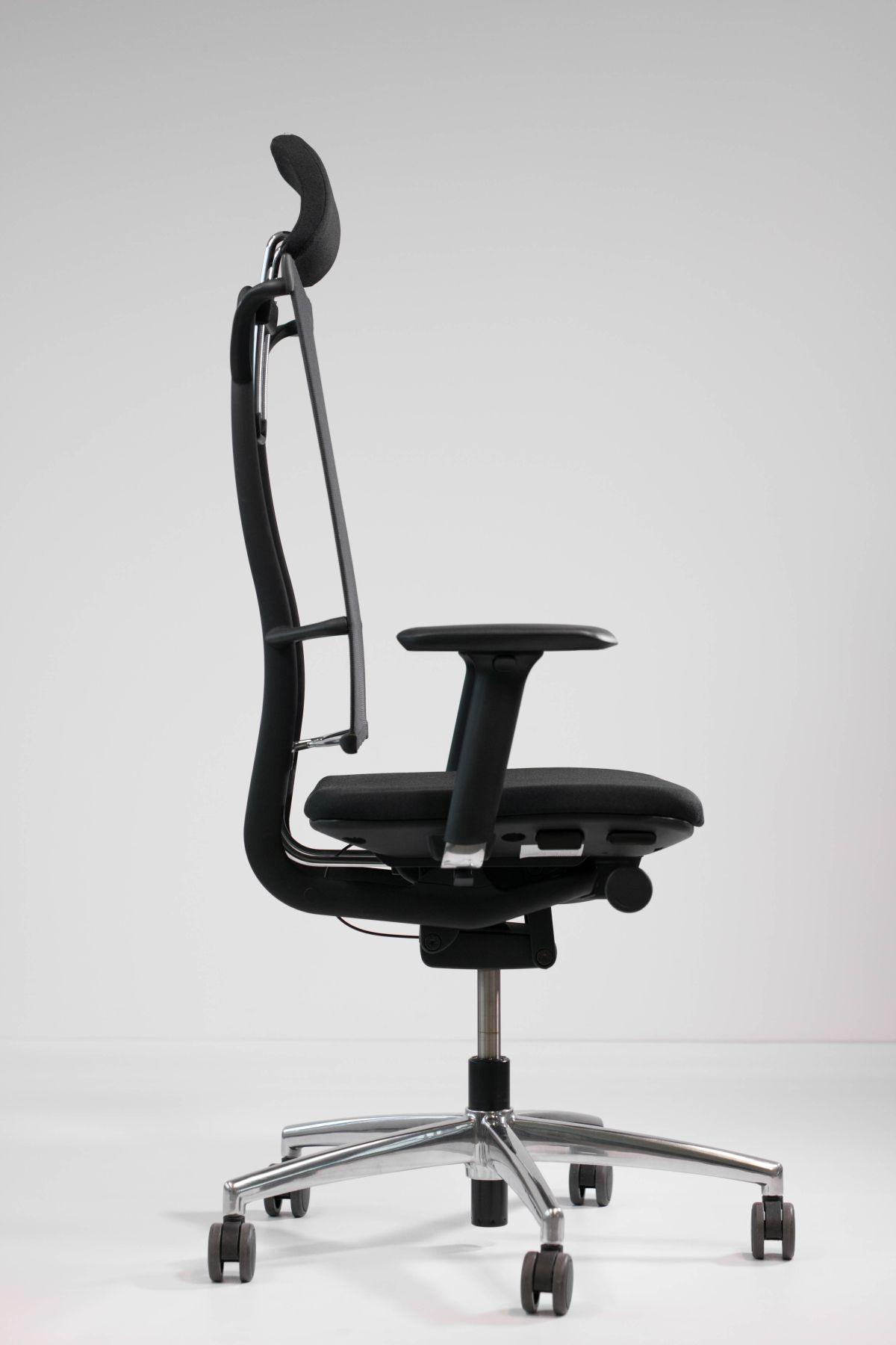Seitenansicht Bürostuhl mit Netzstoff http://www.bueromoebel-experte ...