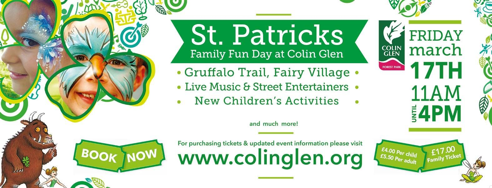 Colin Glen Forest Park are hosting a Family Fun Day on