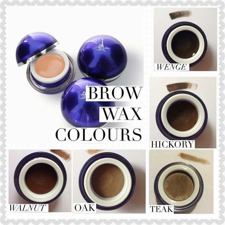brow wax colors