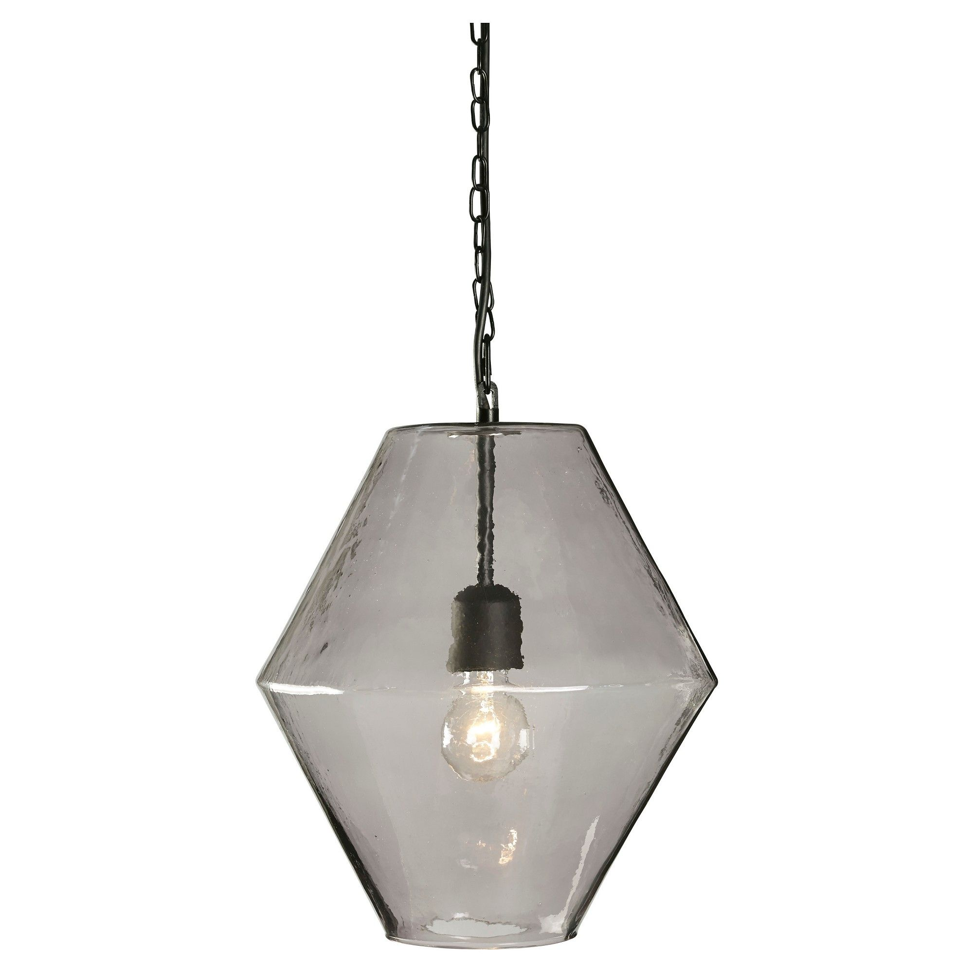 Daquan pendant light purple signature design by ashley light