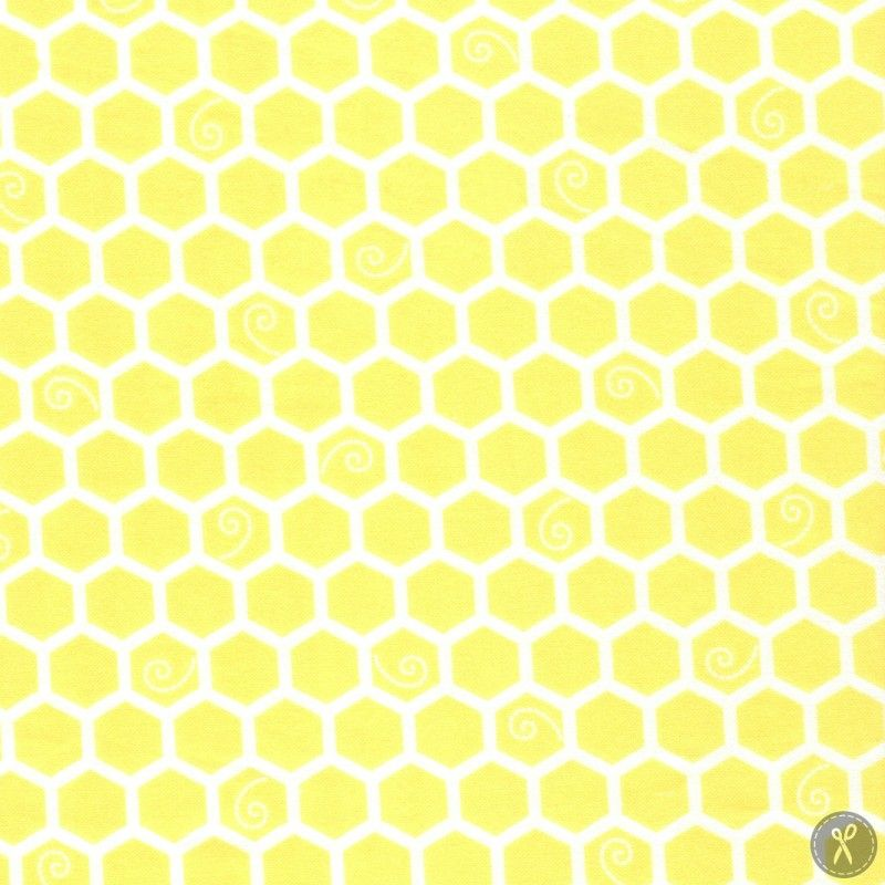 Seamless Pattern With Honeycomb Painted In Watercolor On White