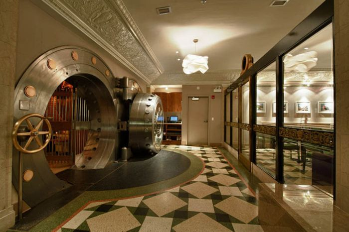 Old Bank Vault Transformed In To A 5 Star Restaurant