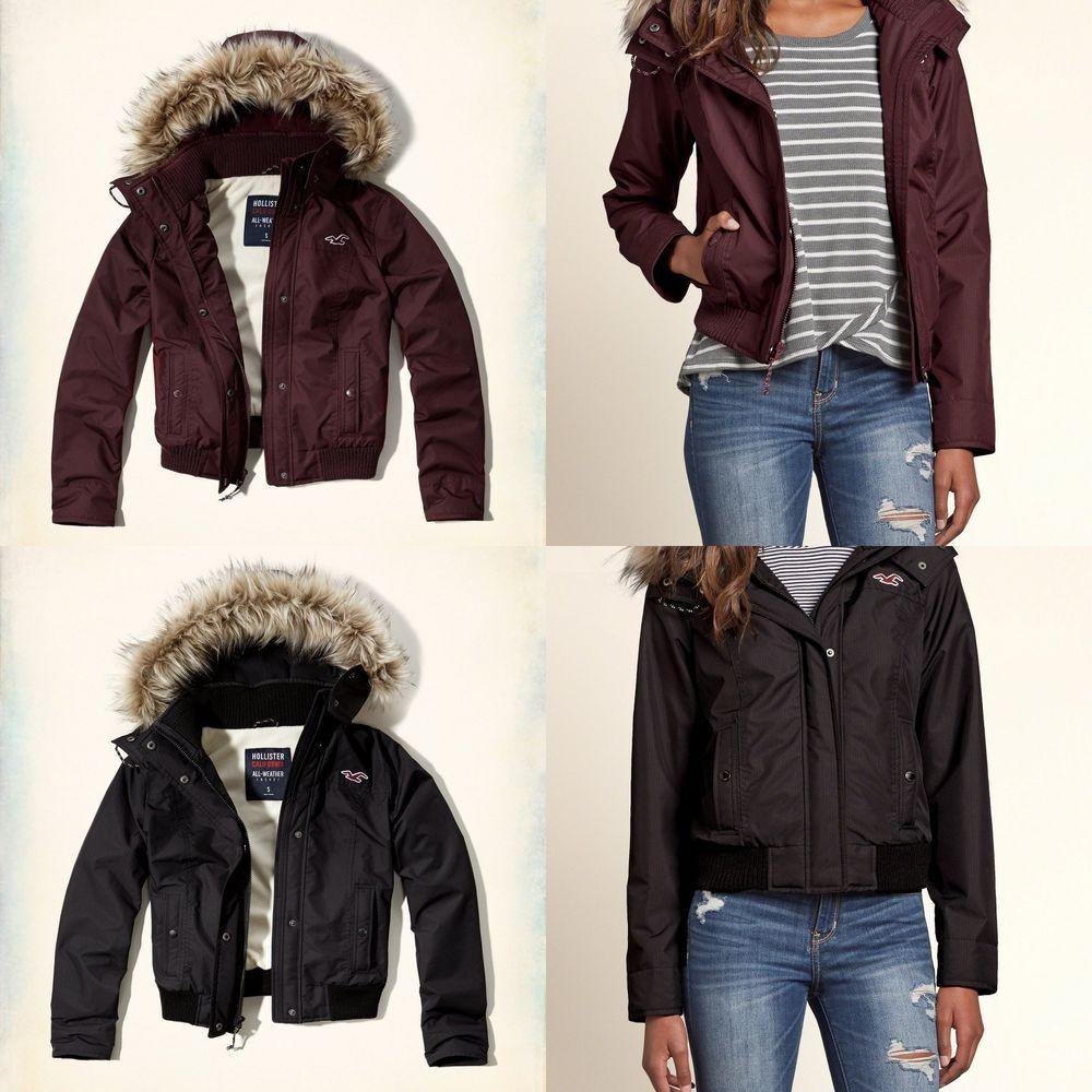 hollister jacket sizing