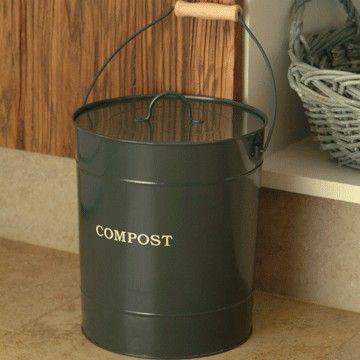compost bucket Composting Pinterest - komposteimer für die küche