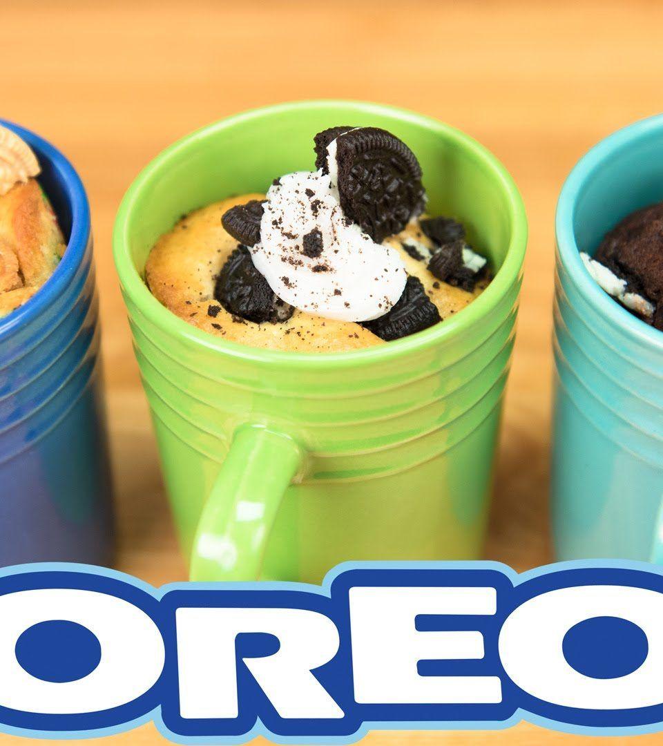 Chocolate oreo mug cake recipe how to make chocolate