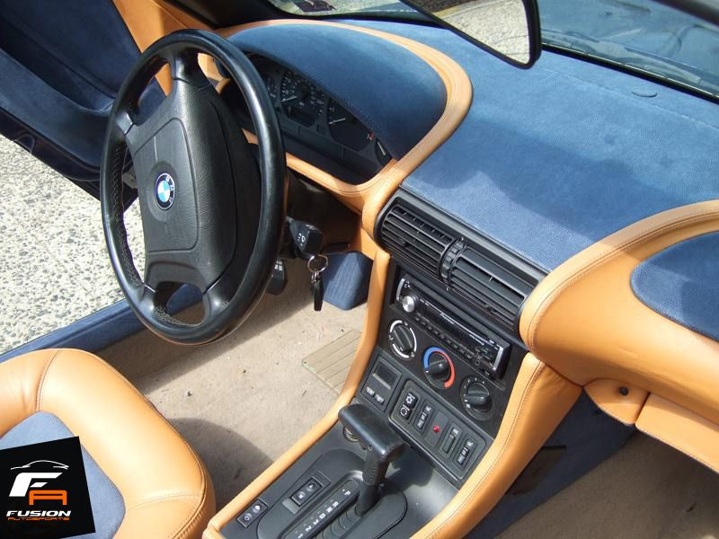 bmw z3 custom 2 tone interior by fusion autosports custom cars in woodbridge nj. Black Bedroom Furniture Sets. Home Design Ideas