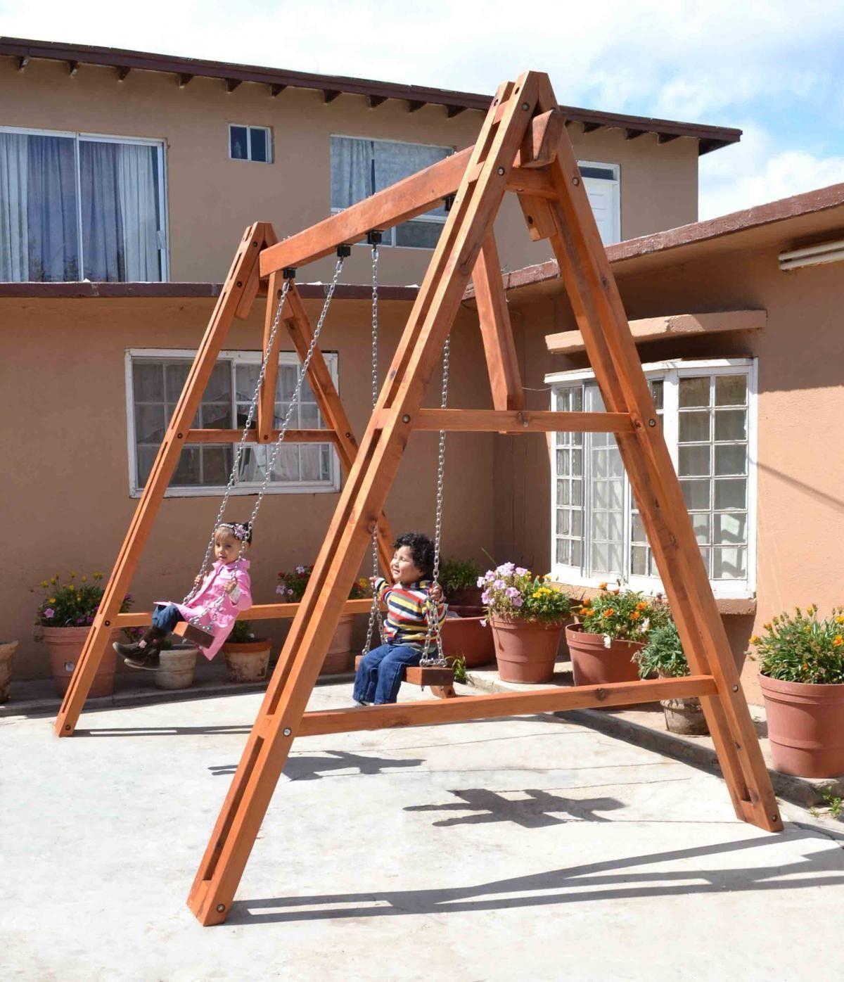 Swing Set | Backyard for kids, Swing set