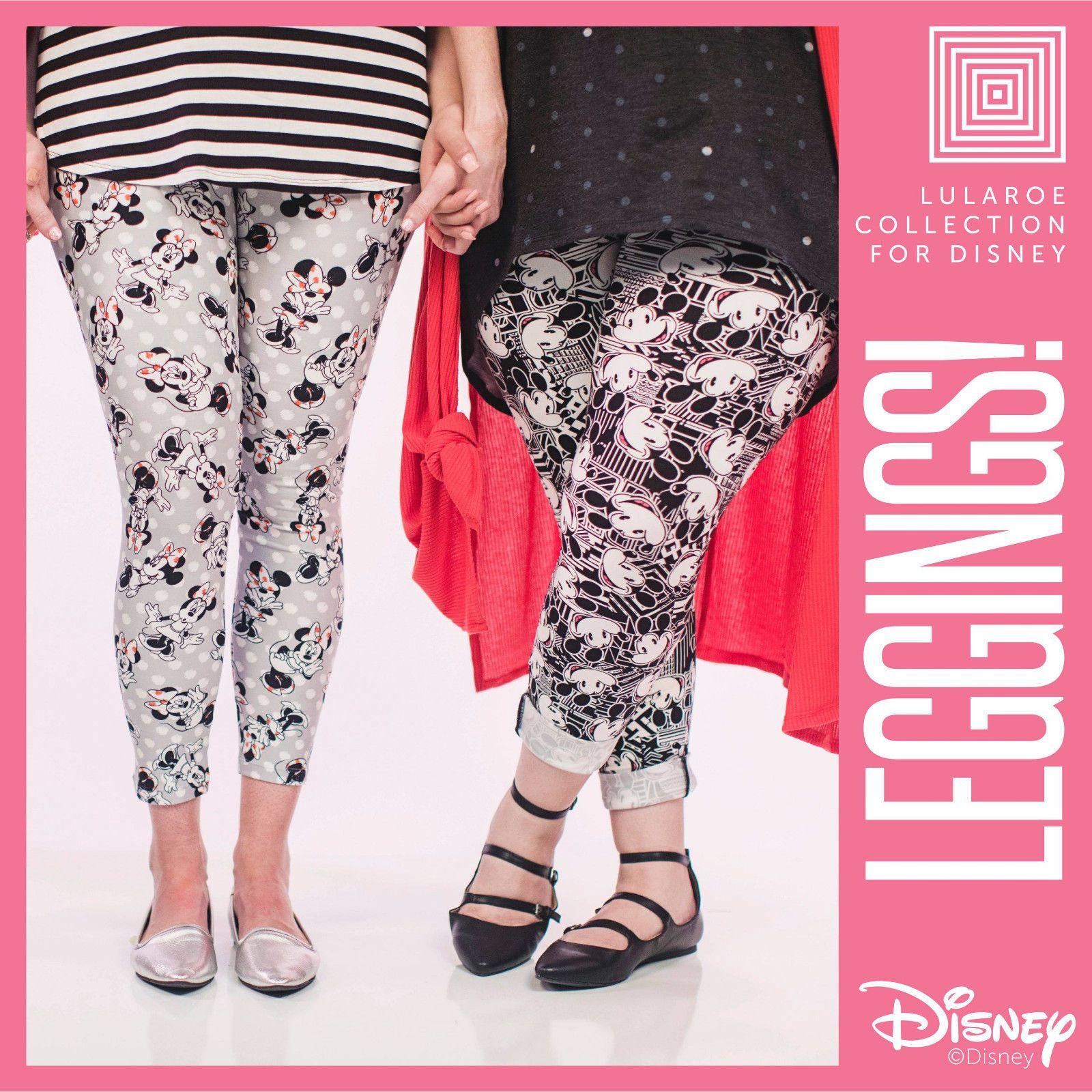 b211b5717226a Disney Collection LuLaRoe Leggings Tall & Curvy One Pair Mystery Pre Sale TC  NWT
