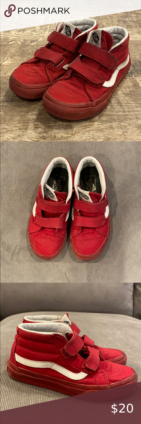 Vans Kid's Skateboard Shoe in 2020