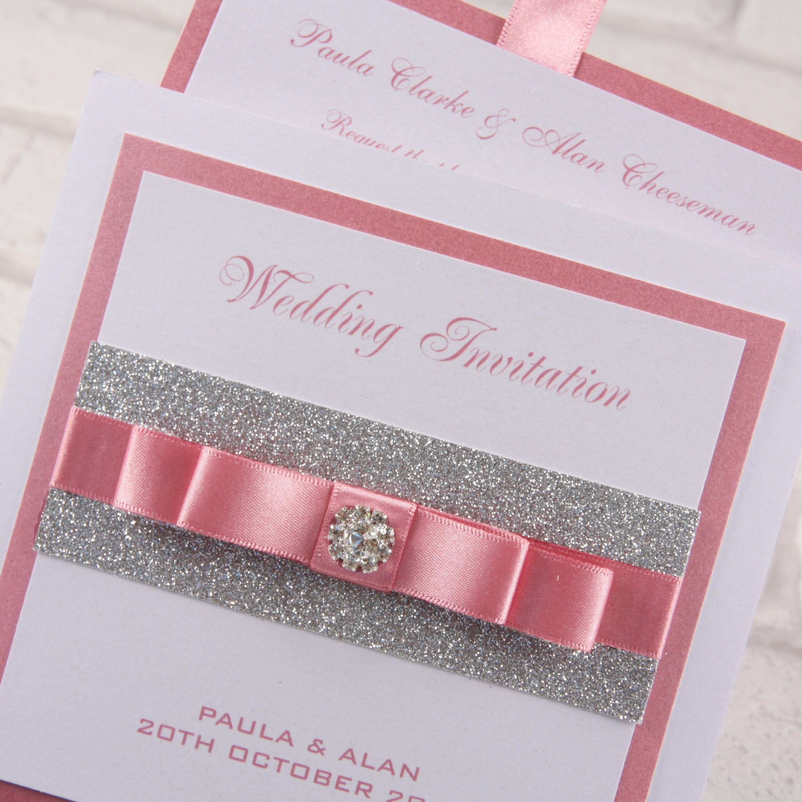 Luxury Pocketfold Wedding Invitations: Luxury Premium Wallet Invitations From Our 'Twinkle
