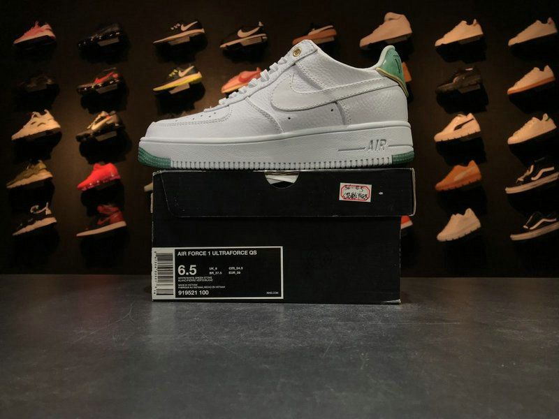 finest selection 50659 ba47e Newest Nike Air Force 1 AF1 Jade White Green Jade 919521 100 Casual Shoes  Sneakers
