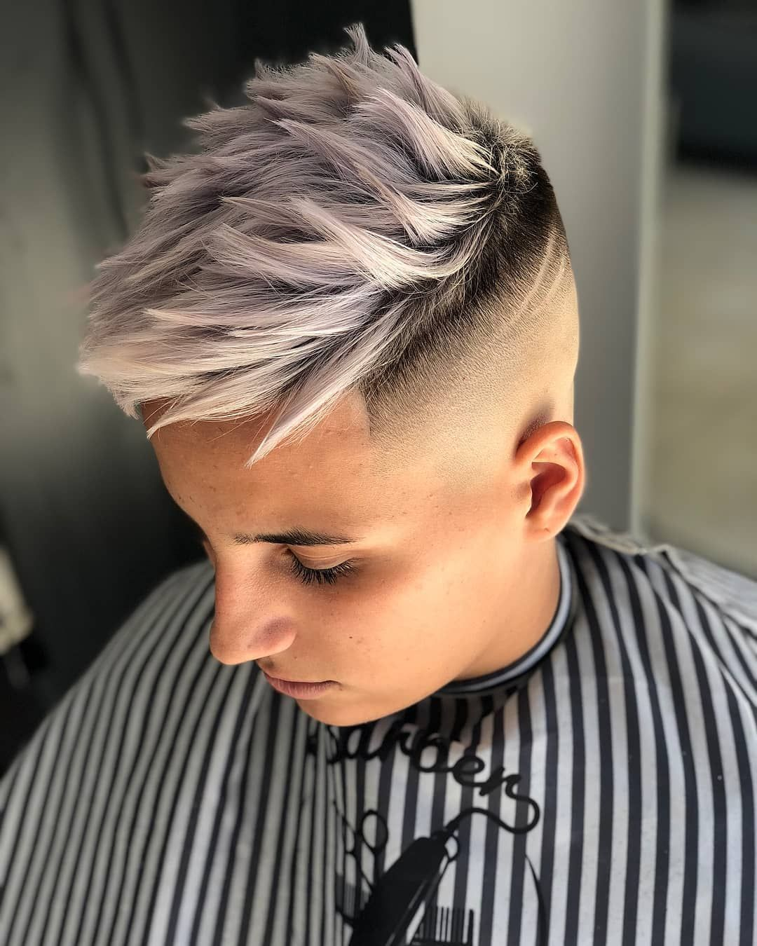 Texture And Color Short Hair Balayage Boys Colored Hair