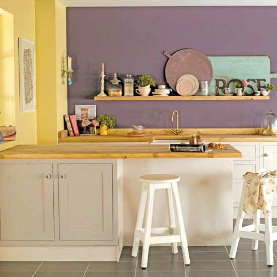 Stencil A Wall Decorate With Paint 10 Country Style Ideas Housetohome