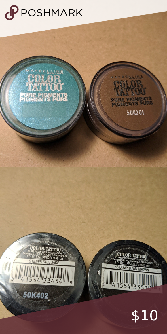 Maybelline Color Tattoo Pure Pigments NWT in 2020