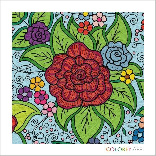 My Colorfy -floral