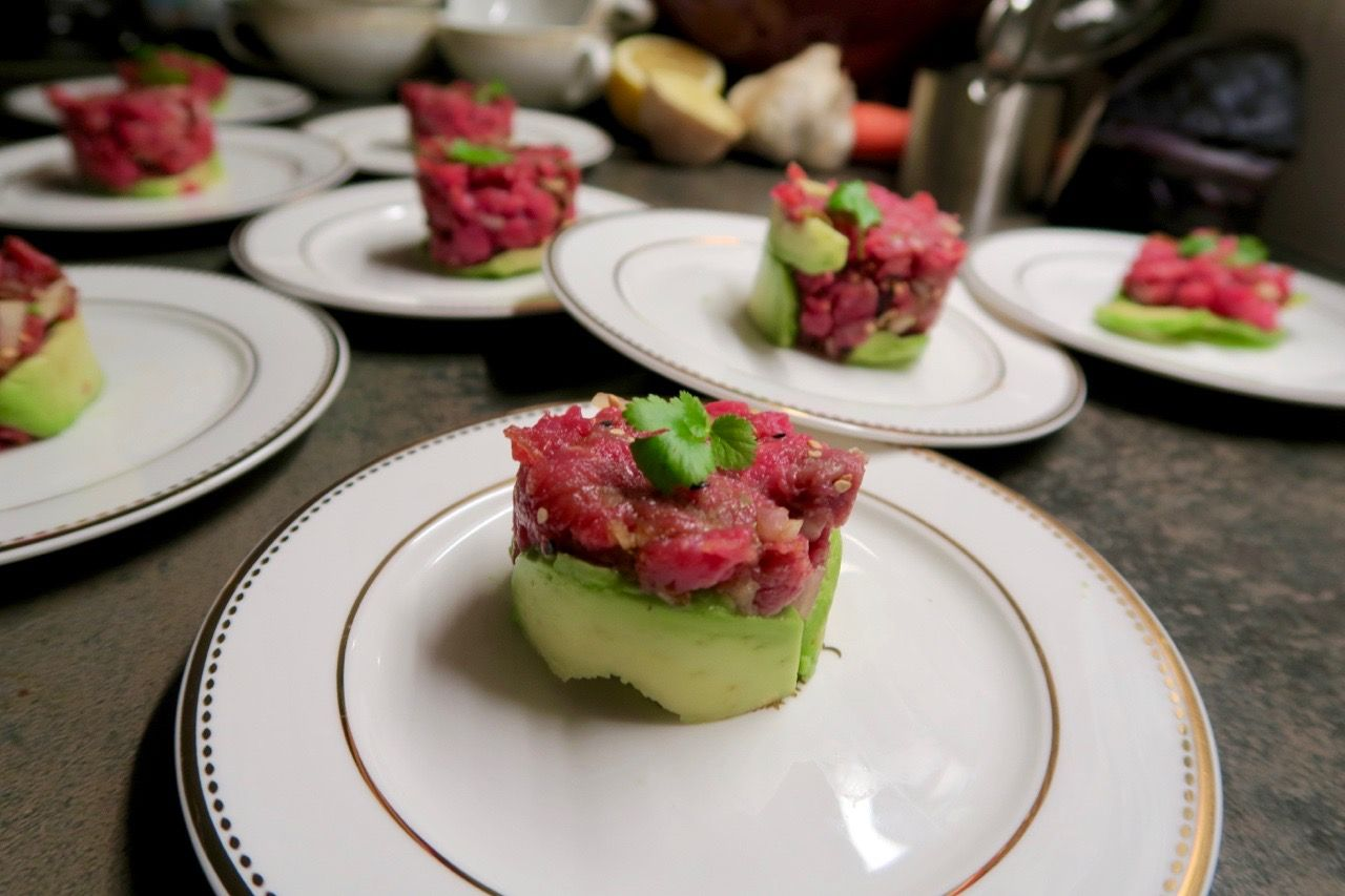 Mein Gruß aus der Küche - Beef Tatar. Diesmal im würzigen ...