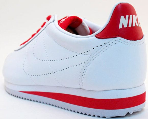 Mejor 2016 Hombre Sarenza Blanco Zapatos Nike Classic Cortez