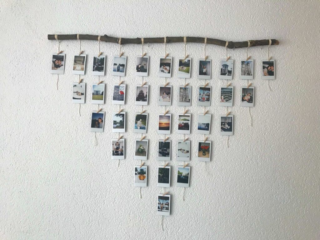 Photo of DIY Polaroid Photo Display – Nur Kate