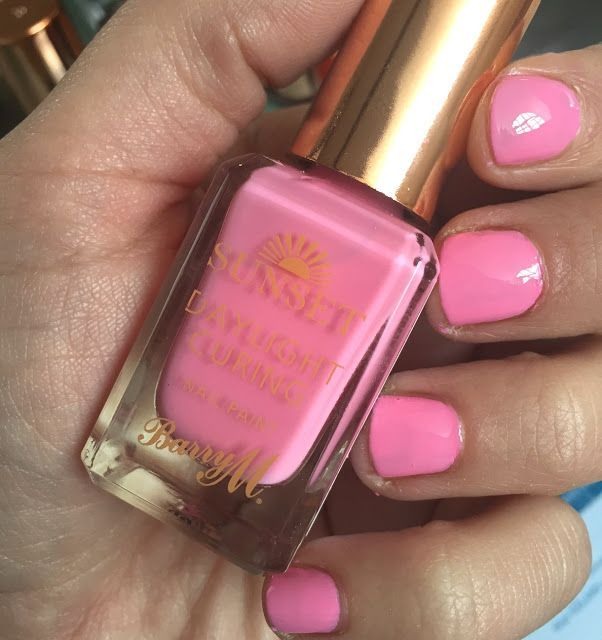 Barry M launched their Spring nail colours on the 10th February at Superdrug a