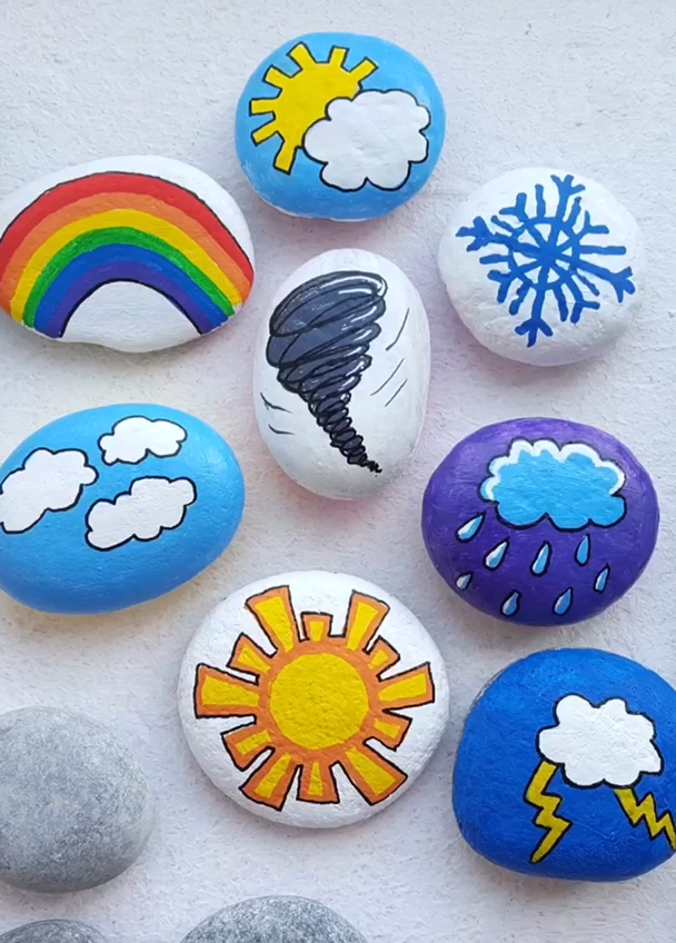 Photo of Creative Ideas for Making Painted Rocks & Stones