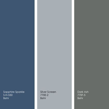 engagement silver paint color behr left to right all from behr