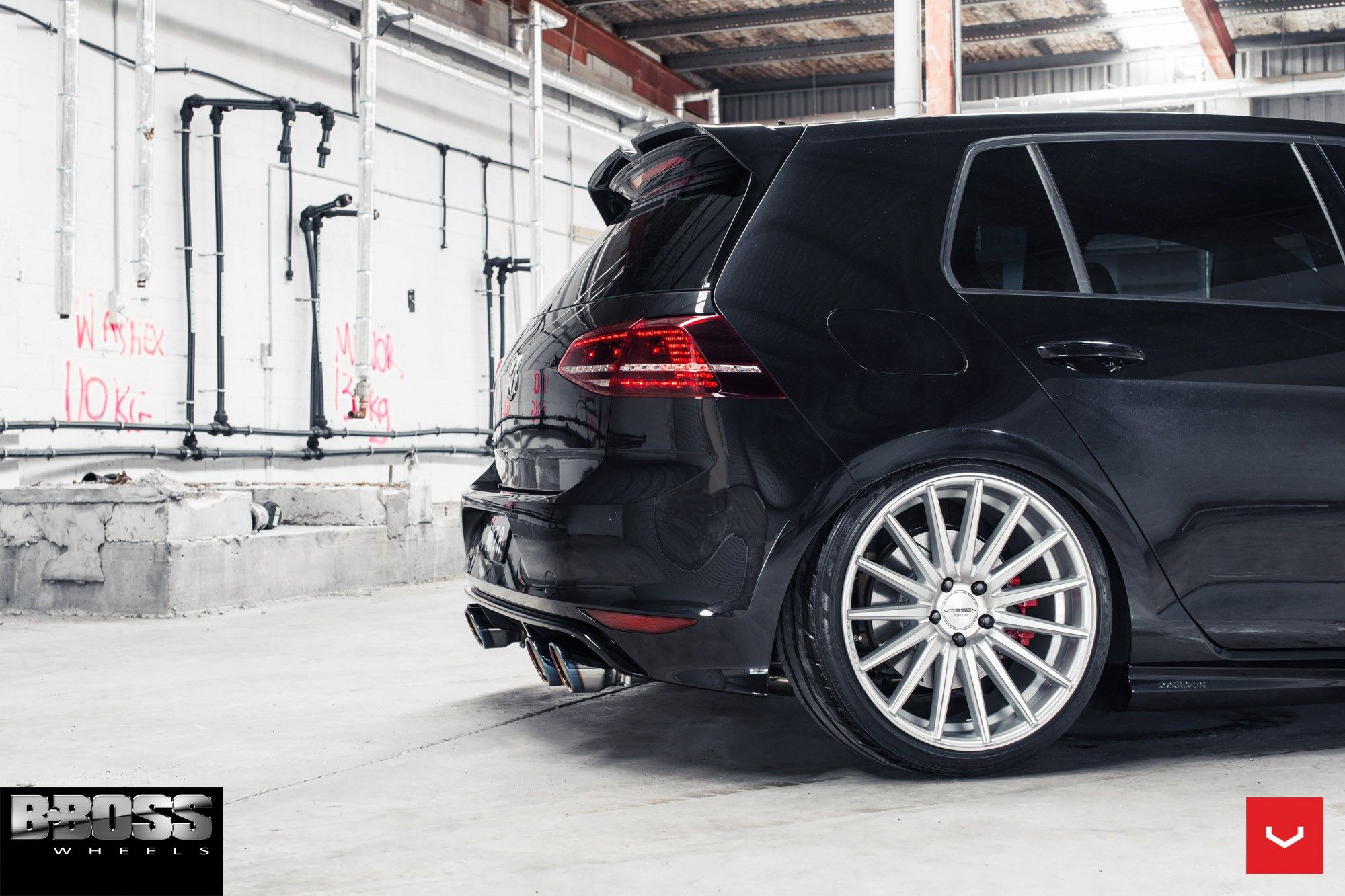 Vossen Wheels Vw Golf R Vossen Flow Formed Series Vfs 2
