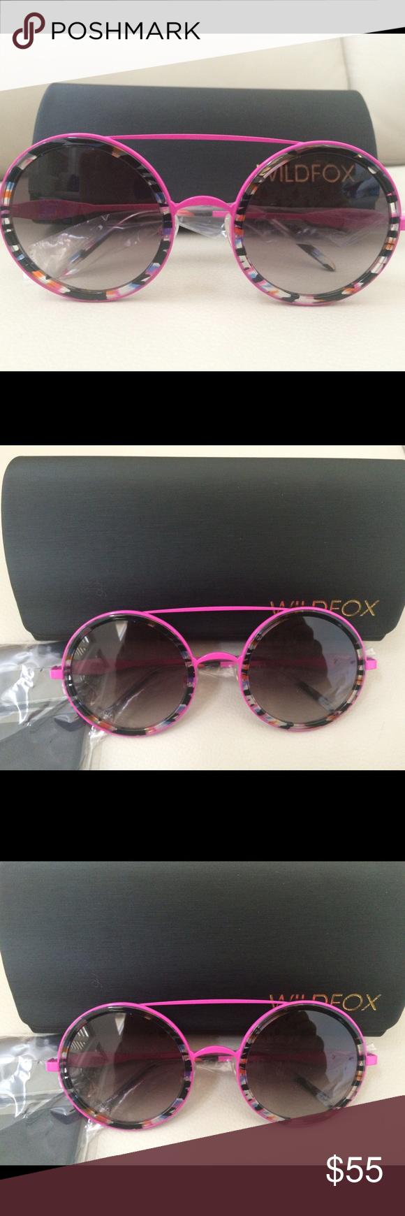 Wildfox Winona Round Sunglasses Nwt Round Sunglasses Wildfox Sunglasses Accessories