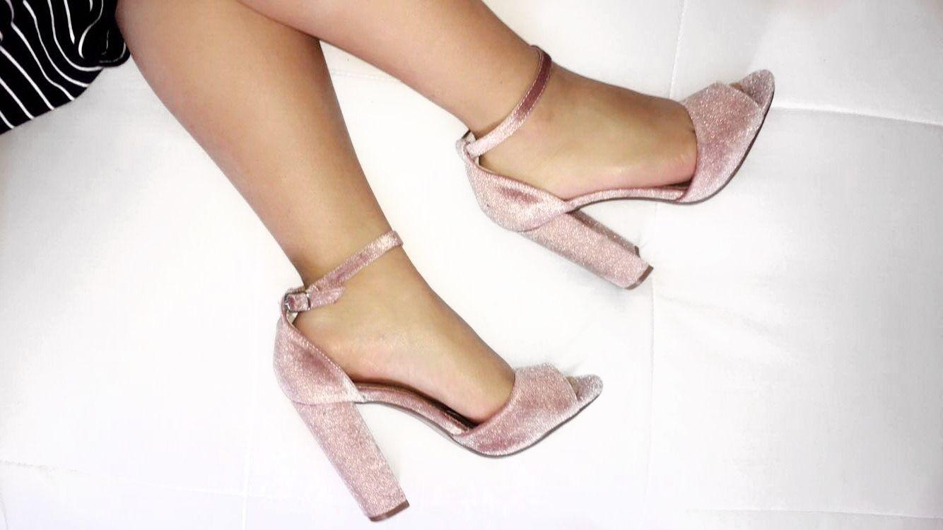 Steve Madden   chunky heel