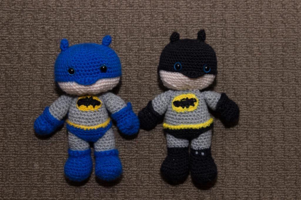 Batman Amigurumi Free Pattern   Stitches   Pinterest   Häkeln