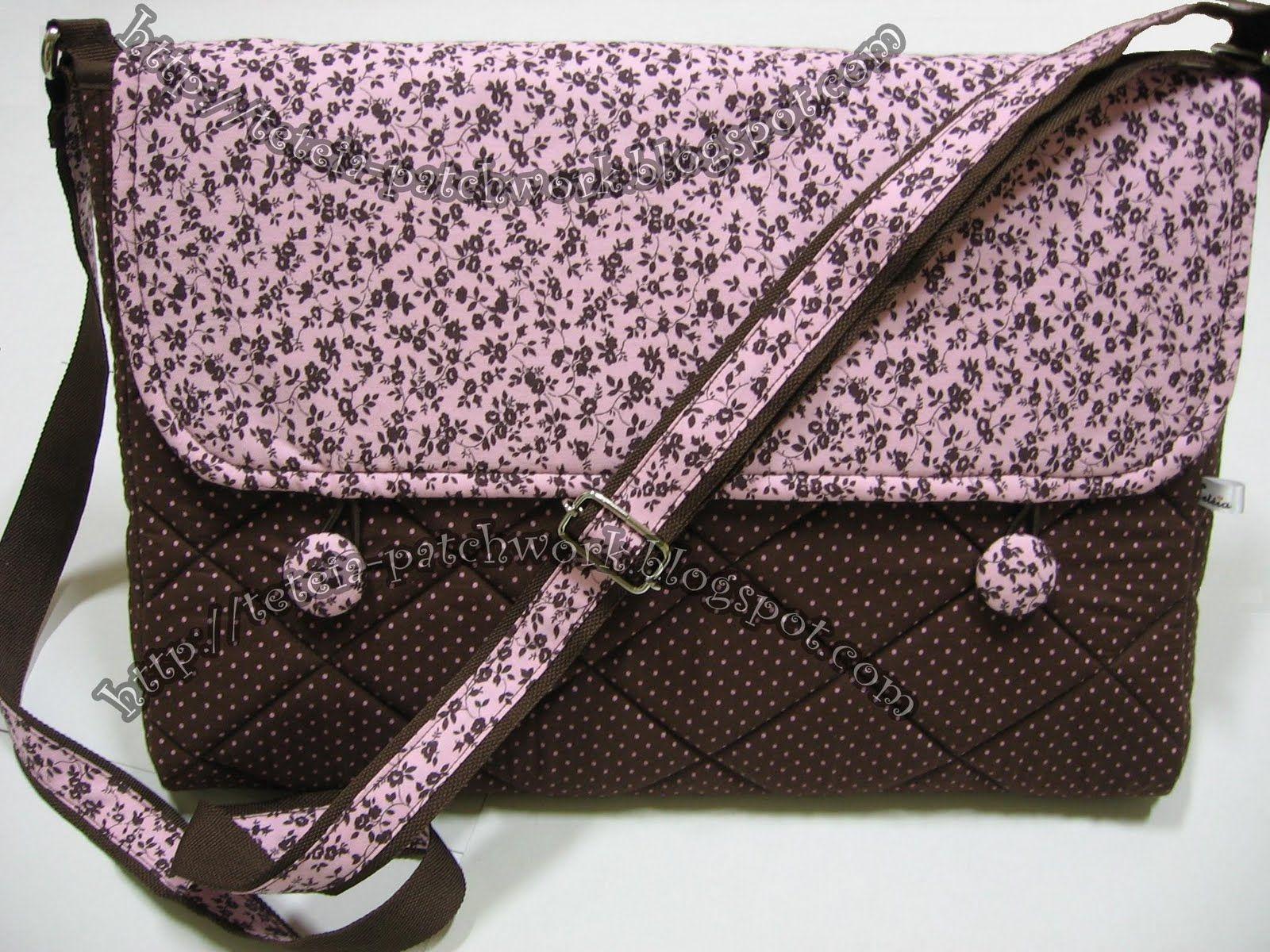 Bolsa De Mão Artesanal Passo A Passo : Molde de bolsa tecido para notebook pesquisa google