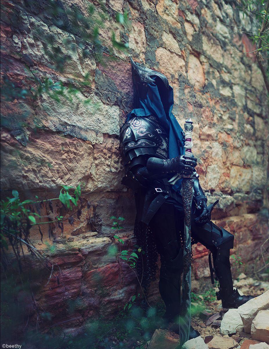 Black leather gloves dark souls - Knight Artorias From Dark Souls