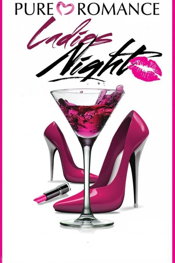 Book a ladies night with me and use this as your for Pure romance invite ideas
