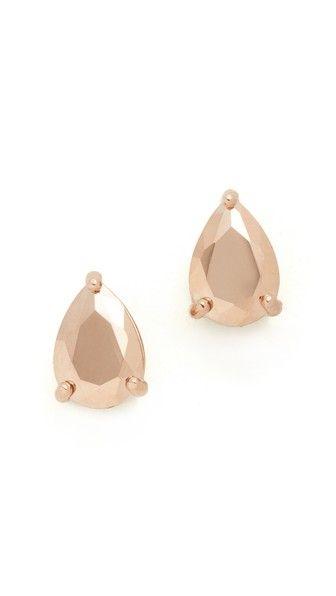 Kate Spade New York Shine On Teardrop Stud Earrings
