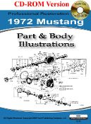 1972 Colorized Mustang Wiring Diagrams Contains A Complete And Comprehensive Collection Of Colorized Wiring Mustang Parts 1965 Mustang Parts 1966 Mustang Parts
