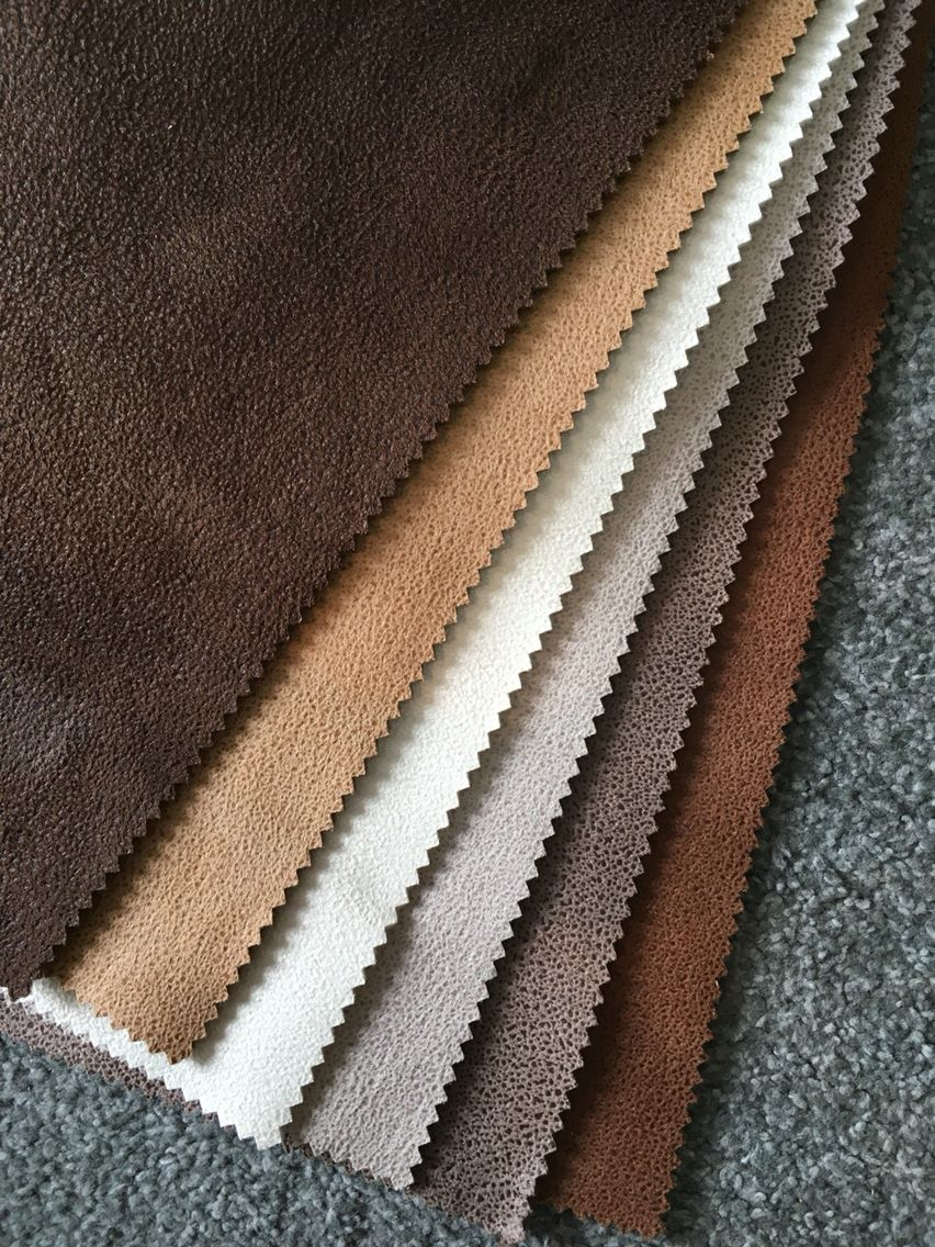 Faux Leather Sofa Cover Fabric For Home Decoration Interior Textile