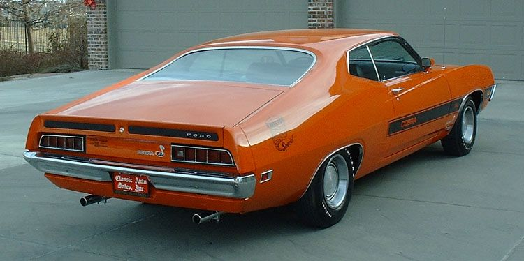 1970 Torino Cobra Twister Special Ford Torino Old Classic Cars