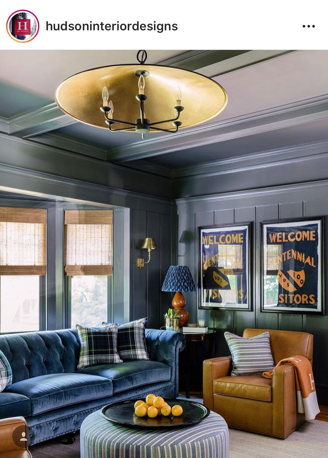 Wall Color And Currey And Co Light Fixture Chesterfield Sofa Living Room Living Room Sofa Blue Accent Chairs
