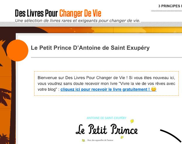 Le Petit Prince D'Antoine de SaintExupéry Prince