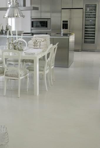 Piso de microcemento alisado casa web cocinas - Microcemento para cocinas ...
