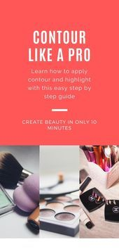 Photo of Simple makeup tutorial Contour for round faces # Contour #Simple #Ge …