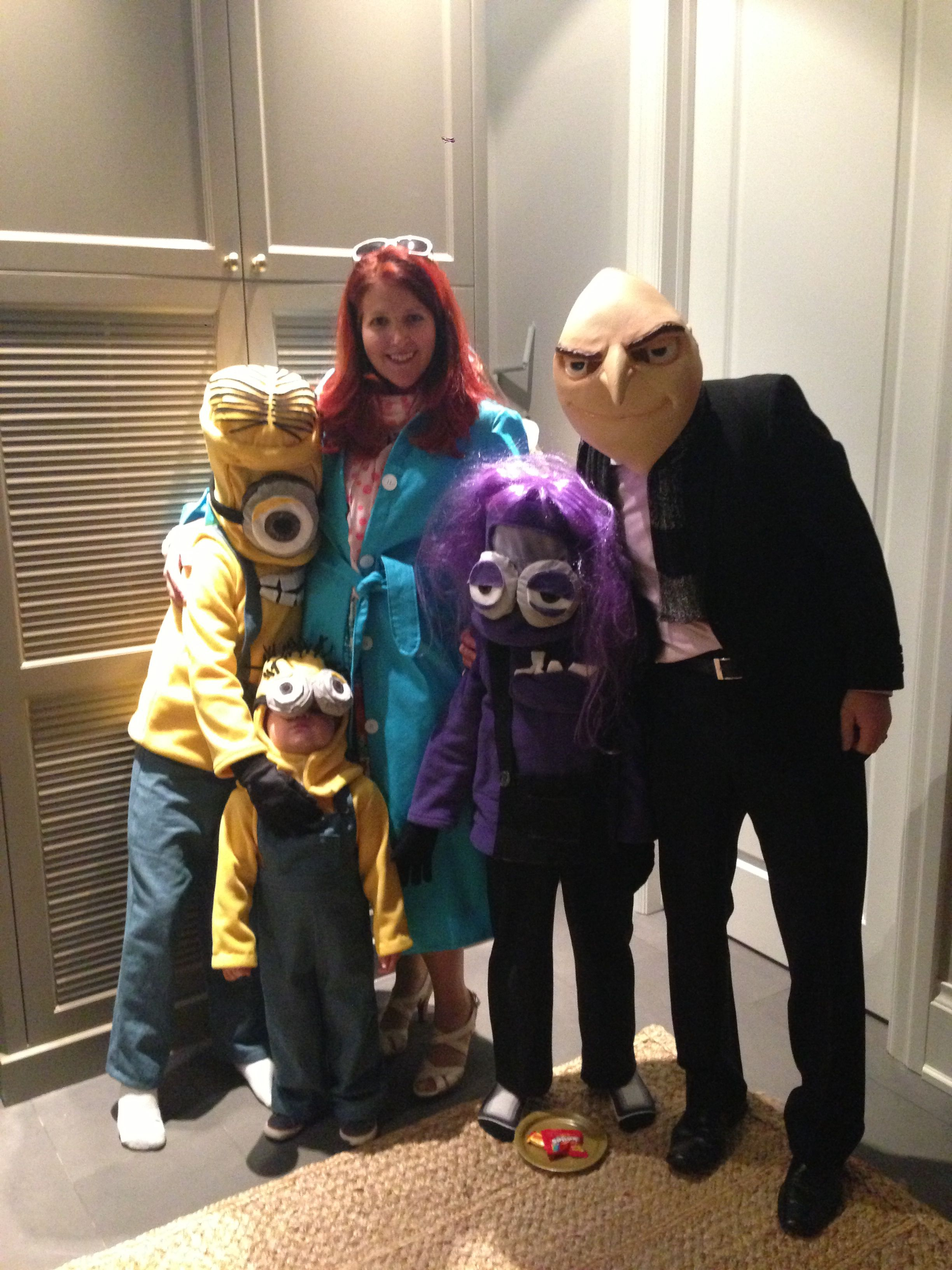 Despicable Me 2 Halloween costumes
