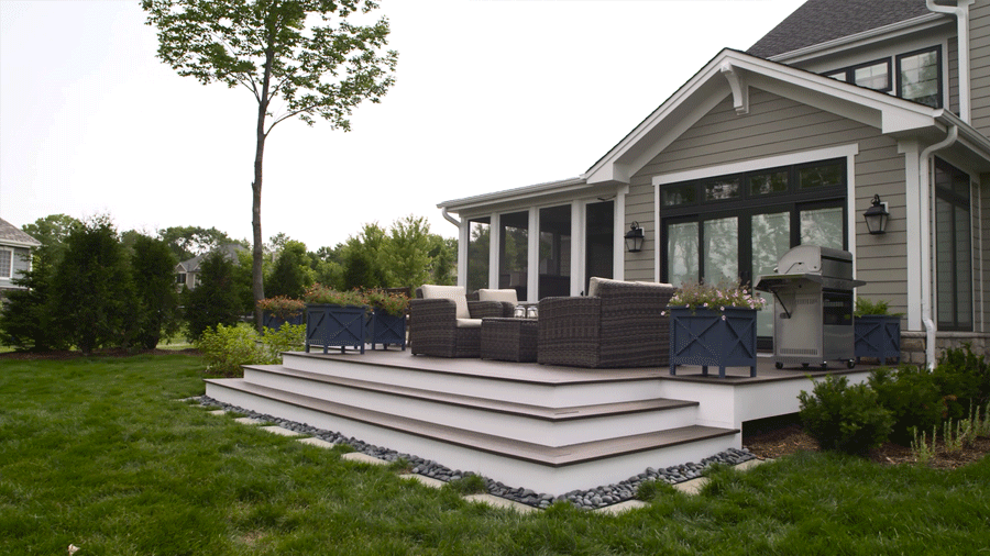Transform your deck into a relaxing and restful retreat. Gather ...